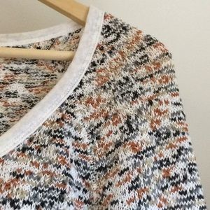 Free People Multicolored Vintage Style Sweater